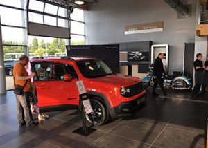 LA PARTICIPATION DE JONATHAN A L'EVENEMENTS JEEP